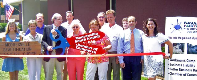 Mooresville South Iredell Chamber of Commerce Newly Painted Building