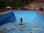 Painting a Pool